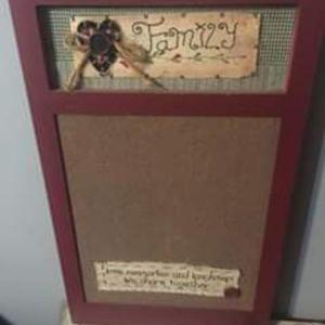 Other - Primitive cork board
